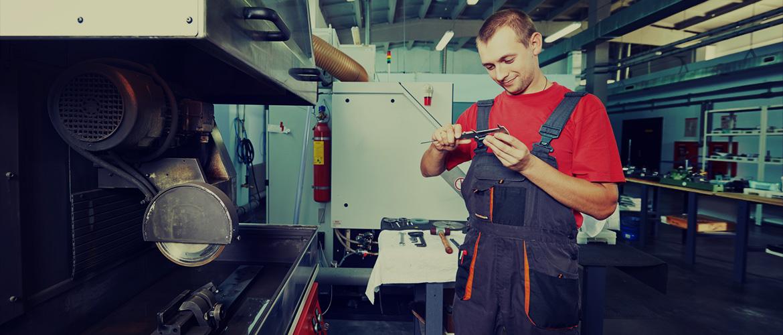 Remonty maszyn i urządzeń